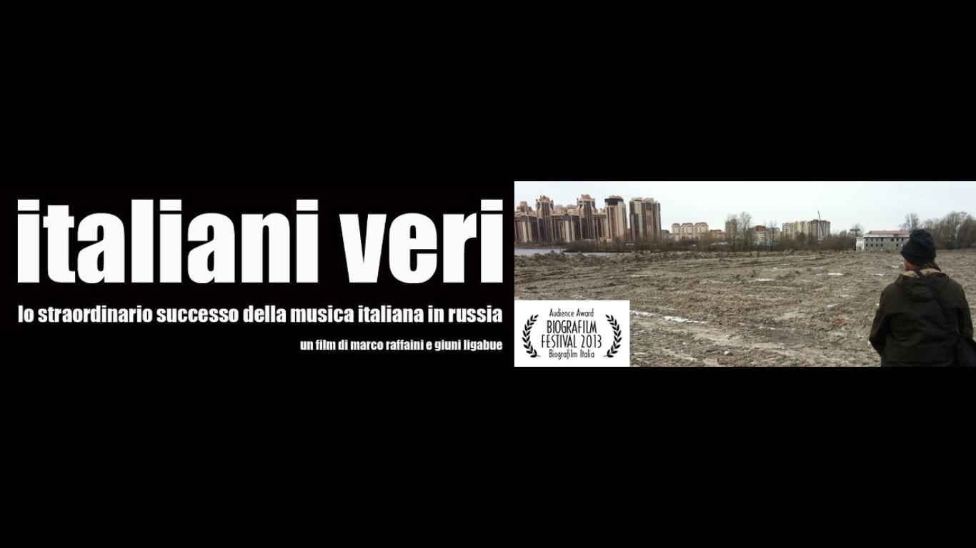 ITALIANI VERI di Marco Mello, Giuni Ligabue e Marco Raffaini > LUNEDI 14 DICEMBRE