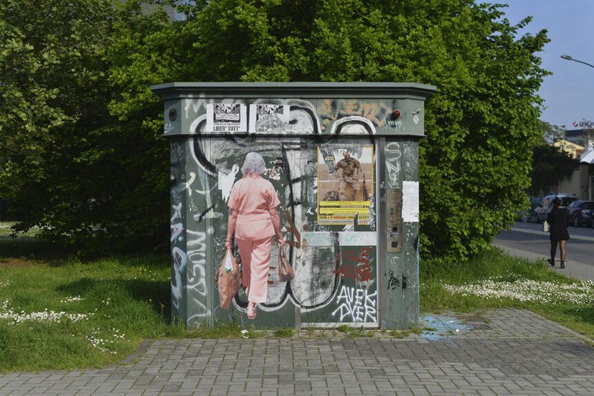Le interferenze urbane di Vantees raccontano la presenza nell'assenza